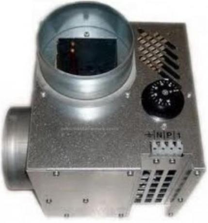 Ventilador distribuição ar 400 m3/H