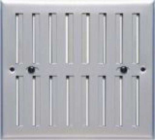 Grelha lâminas móveis 17x17